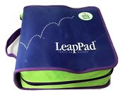 Leapfrog Leappad Plus Writing Learning System 7 Books 7 Cartridges, And Case