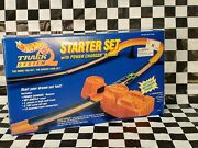 New 1994 Vintage Hot Wheels Starter Set With Power Charger Booster Track System