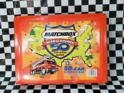 New Matchbox Across America 50th Year Birthday Car Series Carrying Case 2001 Nos