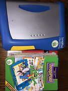 Leap Pad Plus Writing Console W/5 Books And 4 Cartridges Pre-k To 3rd Grade