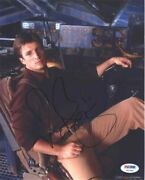 Nathan Fillion Serenity Autographed Signed 8x10 Photo Certified Psa/dna Aftal