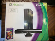 New, Factory Sealed Xbox 360 Kinect 4gb Console With Kinect And Adventure Game