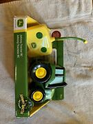 Tomy John Deere Remote Control Johnny Tractor Toy Green
