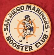 Vintage 1970's San Diego Mariners Wha Hockey Pin Pinback Button Old Early Nhl