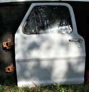 Complete Used Oem Ford 1972 Truck Door Driver Side With Glass
