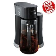 Mr.coffee Tea Cafe 2-in-1 Iced Tea Maker With Glass Pitcher - 3days Delivery Usa