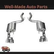 Corsa 304 Ss Axle-back Exhaust System Quad Rear Exit For 18-19 Mustang 21039