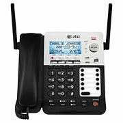 Atandt Synj Sb67158 Dect 6.0 4-line Corded/cordless Small Business Phone System...