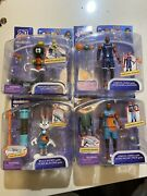 Space Jam A New Legacy 5 Lebron James X2, Marvin The Martian, Bugs Bunny Lot
