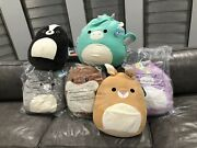 Squishmallows Completed Set All New 3 Sealed 16 Inch Stuffed Animals