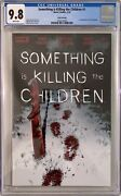 Something Is Killing The Children 1 6th Prt Cgc 9.8 Only 54 On Census Free Ship