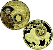 Custerand039s Last Stand Colossal Commemorative Coin Proof Value 139.95