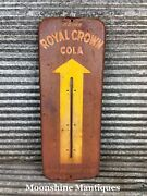 Vintage 1950andrsquos Royal Crown Cola Thermometer / Sign