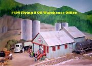 Campbell Scale Models 406 Ho Oil Warehouse And Office