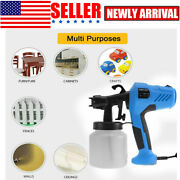 Electric Paint Sprayer Handheld Spray Gu-n Painter Painting Home Wagner Airless.