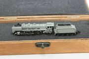 Z Scale Marklin 2-8-2 Borsig Br 41 Steam Locomotive And Tender Out Of Set 8887