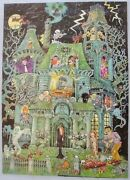 Complete In Box, 1973 Springbok 100 Piece, The House On Haunted Hill Puzzle