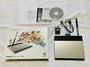 Used Wacom Intuos Comic Art Pen And Touch Tablet Cth-480/s3 From Japan F/s