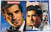 Jfk. Jr Collectibles. 1960-1999 2 Tributes People Newsweek Like New