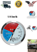 Omggstainless Steel Temperature Gauge For Smoke Grill Bbq Heat Indicator 3 1/8