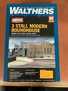Walthers Cornerstone 933-2900 Ho Scale 1/87 3-stall Modern Roundhouse