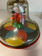Vintage Magic Col-r-tone Toy Spinning Top 1950s