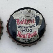Belfast Mug Root Beer Soda Crown Cap Bottle Can Flat Top Tin Cone Acl Fountain