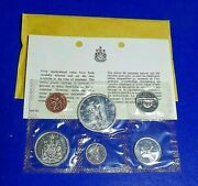 Canada 1966 Royal Canadian Proof Like Mint Set 6 Coin 80 Silver Prestine