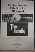 The Family - Original 1973 One Sheet Movie Poster 27 X 41 Charles Bronson