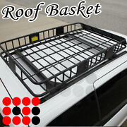 Fit Lexus Car Roof Top Basket Travel Luggage Carrier Cargo Rack + Extension