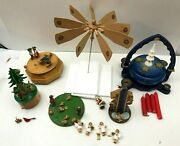 Six Vintage German Wooden Toys Need Lots Of Tlc A Nice Project For The Tinkerer