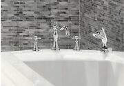 Moen Weymouth Roman Tub Faucet With Hand Held Shower With Rough In Valves