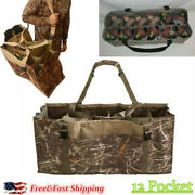 Outdoors 12 Slot Duck Decoy Bag For Mallard Wood Duck Puddle Duck Hunting Bag