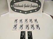 Browning Stickers 4 Gloss Black 10 For 8.99ca +2 Free High Quality Decals