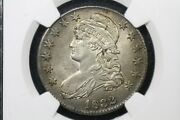 1832 Large Letters Capped Bust Half Dollar, O-101a, Ngc Au-55 Nice