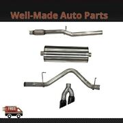 Corsa Cat-back Exhaust System With Dual Side Exit For Chevy/gmc 304 Ss 21030blk