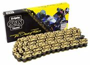 Motorcycle O-ring 530 Chain Gold 7.5m Roll 473 Link