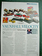 Vauxhall Sports Cars Toy Model Article 4 Side Matchbox Schuco Vanguards Yat Ming