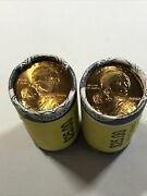 Pair 2 Roll 2000 P And D Sacagawea 1 Dollar Unopened Coins Bu Uncirculated 50