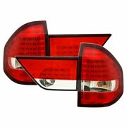 Tail Lights Led For Bmw X3 E83 - Red And White