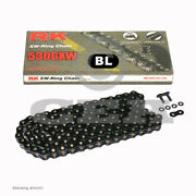 Motorcycle Chain Black Xw Ring Rk Bl530gxw With 112 Rolls And Rivet Link O