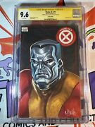 Original Art By Mark Brooks House Of X 1 Full Color Sketch Colossus Cgc 9.8 Ss