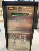 Doorking 1802-090 Gate Telephone Entry System W/card Reader And W/50 Fobs
