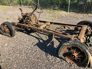 1930 31 Model A Ford Rolling Chassis W/engine,trans,axles Matching Numbers