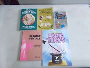 5 Assorted Magic Books Young Magicians For All Amazing Modern Coin Magnetic