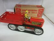 Vintage Marx Giant Reversing Tractor Truck Wind Up Nos Mib 957-
