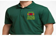 Ww Ii Ribbon Luzon Philippines Campaign Embroidered Polo Shirt/sweat/jacket.