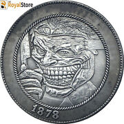Us Hobo Nickel Coins 1878-cc Morgan Hand Carved Engraving Art Coin