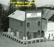 Campbell Scale Models 435 Ho J Brice Produce Warehouse