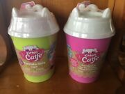 Lot Of 2, Series 2 Kitten Catfe Purrista Girls Mystery Packs Cafe Dolls In Hand